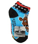 Five Nights at Freddy's Youth Ankle Socks 6 Pack