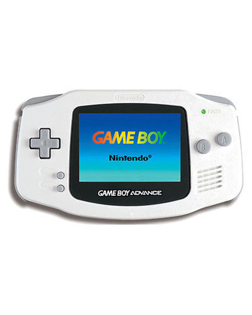 Nintendo Game Boy Advance Arctic White