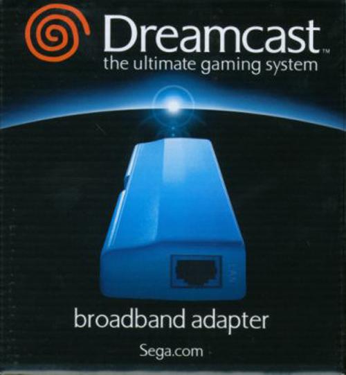 Dreamcast Broadband Adapter by Sega