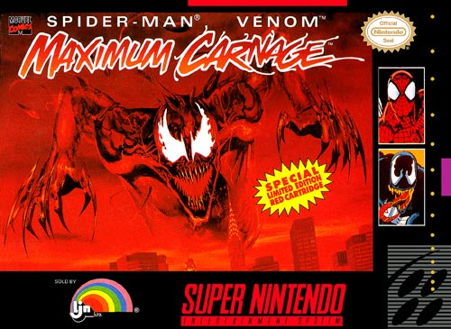 Spiderman and Venom: Maximum Carnage
