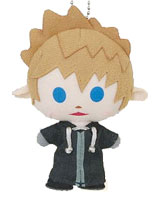 Kingdom Hearts Avatar Plush Roxas Keychain
