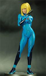 Metroid Prime 2 Echoes Samus Zero Suit Statue
