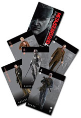 Metal Gear Solid 4 Playing Cards