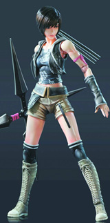 Final Fantasy VII Advent Children Play Arts Kai Yuffie Action Figure