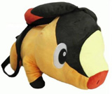 Pokemon Black & White Tepig Plush Backpack