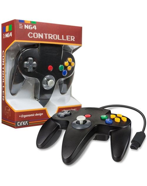 N64 Cirka Controller Black