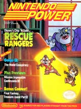 Nintendo Power Volume 14 Chip 'n Dale Rescue Rangers