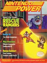 Nintendo Power Volume 14 Chip 'n Dale Rescue Rangers