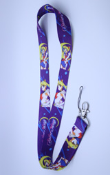 Sailor Moon Purple Lanyard