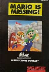 Mario is Missing (Instruction Manual)