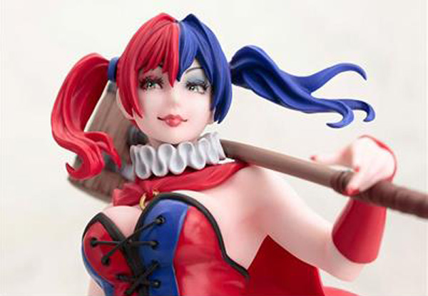 DC Comics Harley Quinn New 52 Version 9 Inch Bishoujo Statue