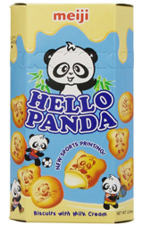 Hello Panda Vanilla Cream Biscuits 2.1oz