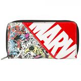 Marvel Comics Large Zip Around Wallet