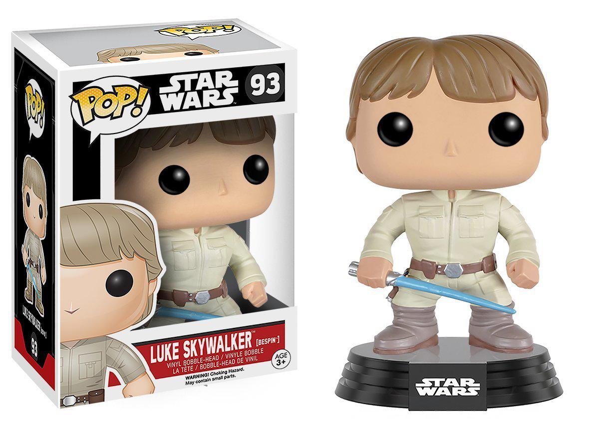Pop Star Wars Bespin Luke Skywater Vinyl Figure