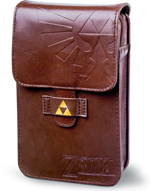 Nintendo 3DS Legend of Zelda Adventurer's Pouch by PowerA