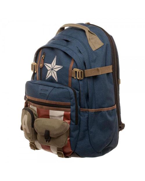Marvel Captain America Herringbone Backpack