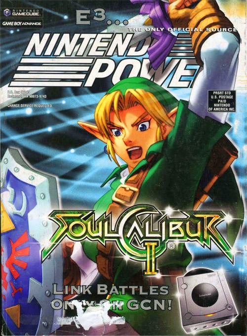 Nintendo Power Volume 169 Soul Calibur II