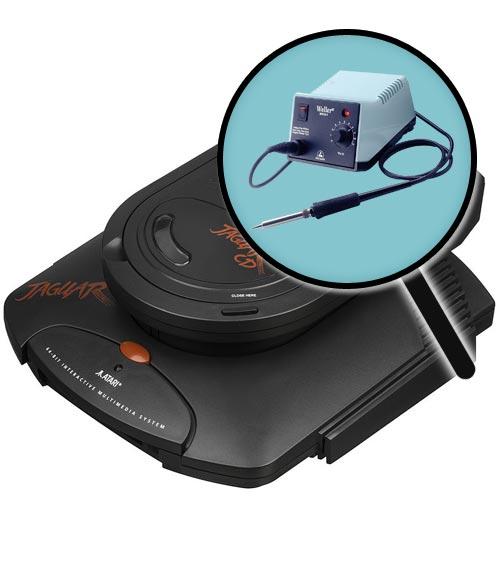 Atari Jaguar Repairs: CD Laser Replacement Service