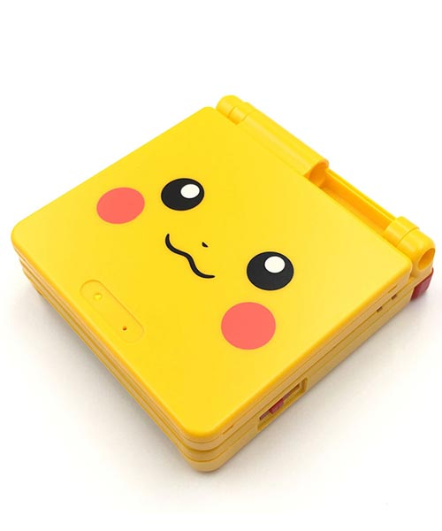 Game Boy Advance SP Housing Shell Replacement Service Pokemon Pikachu