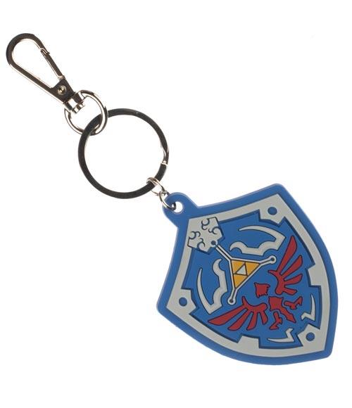 Legend of Zelda Shield Keychain