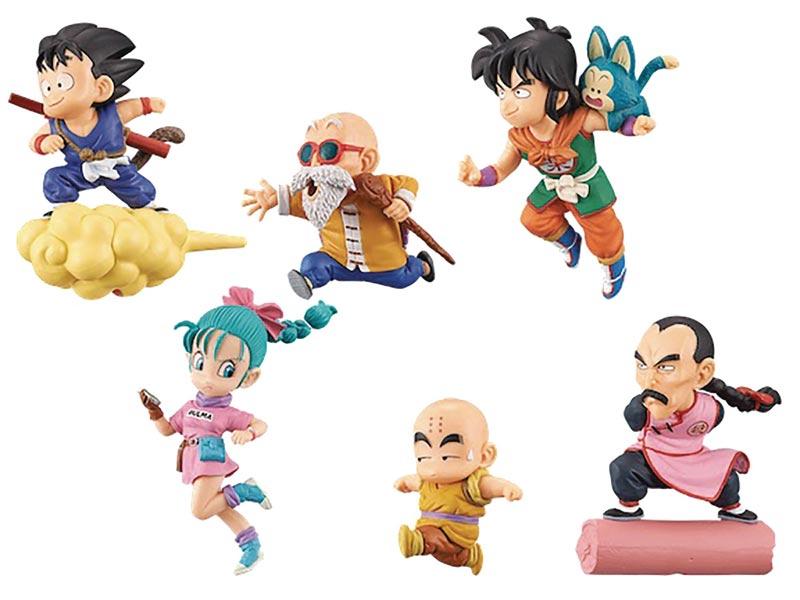 Dragon Ball World Collectible Mini Figures BMB all items