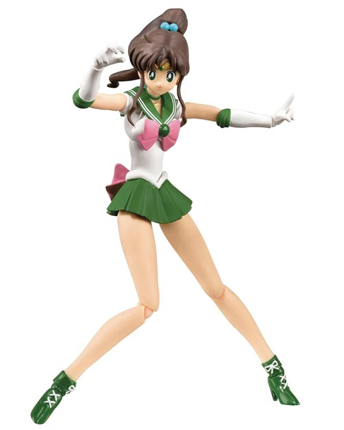 Sailor Moon Sailor Jupiter Anime Color S.H. Figuarts Action Figure
