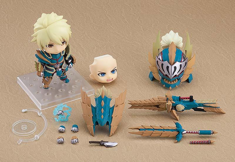 Monster Hunter World Iceborne Male Zinogre Armor Nendoroid DX extra img