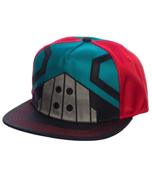My Hero Academia Midoriya Suit-Up Pre-Curved Snapback Hat
