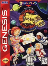 Magic School Bus Space Exploration Game