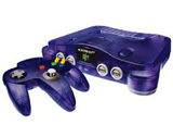 Nintendo 64 Funtastic Series Grape Purple System