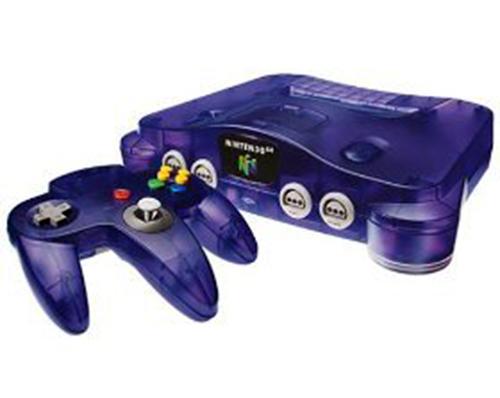Nintendo 64 Funtastic Series Grape Purple Edition System Trade-In