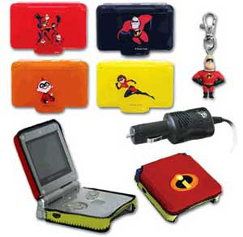 Game Boy Advance SP 4-in-1 Incredi-Bundle by MadCatz