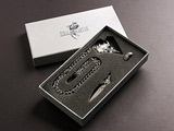 Final Fantasy VIII Squall's Gun Blade, Necklace & Ring Set