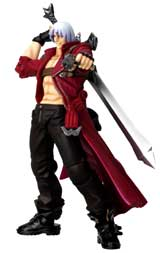 Devil May Cry III Dante Revoltech Action Figure
