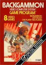 Backgammon by Atari
