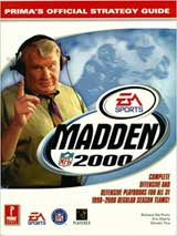 Madden 2000 Official Strategy Guide Book