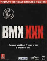 BMX XXX Official Strategy Guide Book