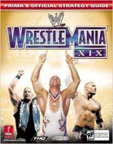 WWE Wrestlemania XIX Official Strategy Guide Book