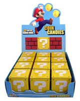 Super Mario Bros Question Mark Coin Box Candy