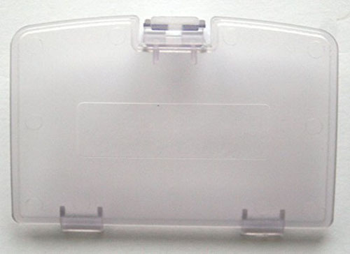 Game Boy Color Battery Cover Clear