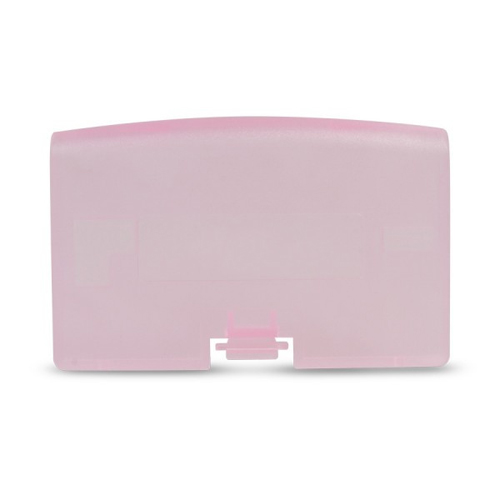 GameBoy Advance Replacement Clear Pink Battery Cover
