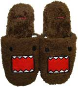 Domo Plush Face Slippers Large