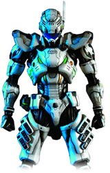 Vanquish Play Arts Kai Sam Gideon Action Figure