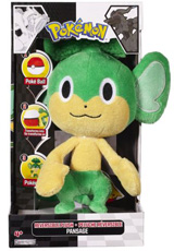 Pokemon Black & White Pansage Reversible Plush