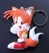 Sonic the Hedgehog: Tails PVC Keychain
