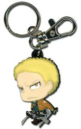 Attack on Titan SD Reiner PVC Keychain