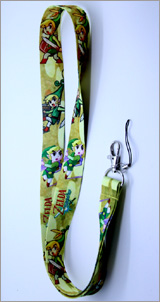 Legend of Zelda Minish Cap Lanyard