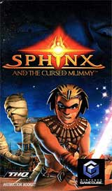 Sphinx and the Cursed Mummy Instruction Manual
