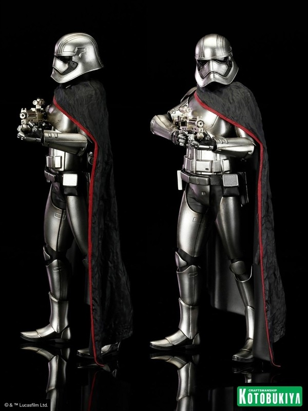 Star Wars E7 Force Awakens Captain Phasma ArtFX+ Statue