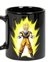 Dragonball Z Goku Energy Heat Change Mug